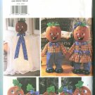 Butterick Halloween Pattern 3618 Pumpkin Decorations Pattern 2002 Uncut