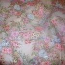 Cranston Print Works Cotton Blend Print 3 Yds Fabric  Florals