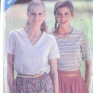 Butterick Misses Pattern 3220 See and Sew Size A (P-S-M) Top