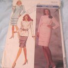 Butterick Misses Pattern 6928 Size 14-16-18 Top & Skirt 1988
