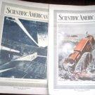 Scientific American April 21 and 28 1917 Tractor Trucks Hudson Bay RR British Airmen