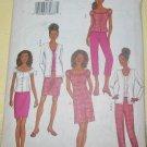 Butterick Misses Pattern 3468 Size 6-8-10 Cardigan Tank Top, Dress, Skirt Pants