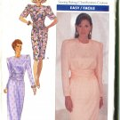 Butterick Misses Pattern 4508 Size 6-8 1989 Dress