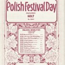 Polish Festival Day Mazurka Student Recital Sheet Music