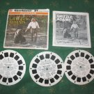 Grizly Adams The Life and Times of  Pkg 3 View Master Reels