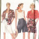 Simplicity 6563 New Look Misses Shorts Tank Top and Blouse  All Sizes Uncut