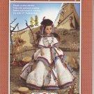 Indian Princess Crochet Pattern Doll Dress Fibre Craft