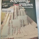 Leisure Arts Leaflet Afghans & Pillows to knit & crochet 1975