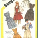 Simplicity 6173 Size Small 10-12 Full Apron Pattern 1983