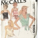 McCalls Pattern 6395 Misses Size 8 Pretty Camisoles Camis Uncut Dated 1978