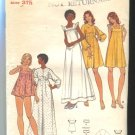 Butterick Misses Pattern 3160 Size 8  Gown and Robe Unused