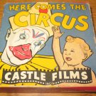 Here Comes The Circus 16 MM Castle Films Vintage Clown Film