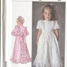 Simplicity 7982 Size 6 Pattern Childs Dress in 2 Lengths 1987 Unused