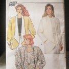 Butterick Fast & Easy Unused 1986 Pattern 3686 Misses Jacket Size L-XL