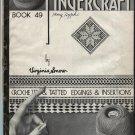 Virginia Snow Booklet Fingercraft Crochet Tatted Tatting Edgings