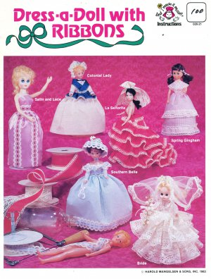 Dress a Doll with Ribbons 1983 Crafting Book