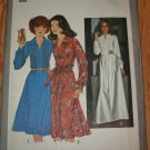 Simplicity 8249 Size 12 Uncut Pattern 1977 Long Sleeve Dress 2 Lengths