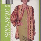 Butterick Jacket Pattern 5345 Size B 14-16-18 Jacket Top Skirt Easy