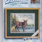 Bucilla Xpressions 1999 Counted Cross Stitch Stag Deer
