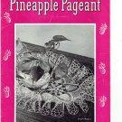 Lot of 3 Vintage Crochet Booklets Pineapple Designs Coats