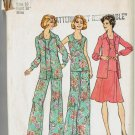 Simplicity 6854 Wide Leg Pants Blouse Top Skirt Size 16 Sewing Pattern UNCUT
