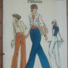 Vogue Easy Pattern Misses Straight Legged Pants Slacks Size 28 Waist