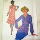 Misses Size 16 Simplicity 8084 Skirt Pullover Top and Scarf 1977 Unused