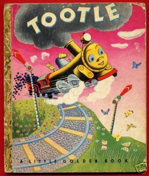 Little Golden Book LGB � Tootle (the train) - a classic!