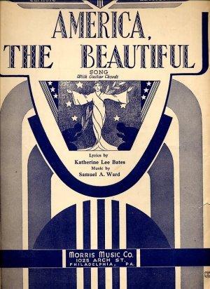 America the Beautiful - vintage sheet music - 1941 - 648