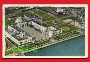 Vintage postcard - MIT Mass Institute of Technology - Boston MA 954