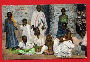 Vintage Postcard - Africa Arabs - Bacharins family photo 949