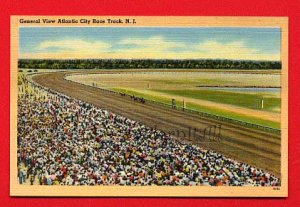 Vintage Postcard -  Atlantic City Racetrack New Jersey NJ 59