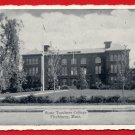 Vintage postcard - Mass State Teachers College Fitchburg MA  706