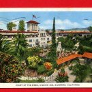 Vintage Postcard -  Historic Mission Inn - Court of Birds - Riverside CA 57