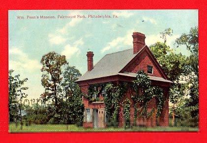 Vintage Postcard - William Penn's Mansion - Fairmount Park, Philadelphia PA 65