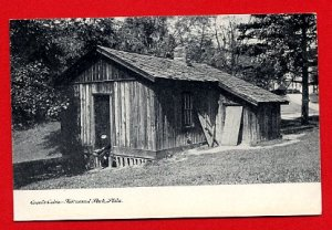 Vintage Postcard - Grant's Cabin photo - Fairmount Park - Philadelphia PA 682