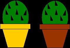 Cactus Flame Candle - Round Cactus