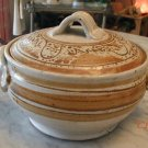 French Ceramic HAG Pottery Tureen Handmade