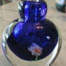 Murano Art Glass Millefiori Perfume Bottle Italy Vintage