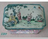 Champleve Enamel Oriental Box Asian Hand Painted