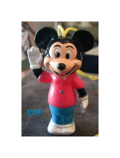 Walt Disney Productions Mickey Mouse Pendant Necklace