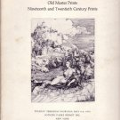 Old Master Prints 1975 Sotheby Auction Catalog
