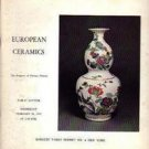 European Ceramics Feb. 26, 1975  Sotheby Auction Catalog