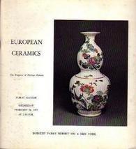 European Ceramics Feb. 26, 1975  Sotheby Auction Catalog