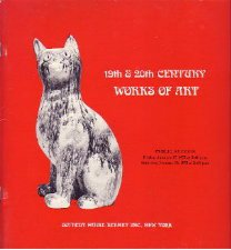 19-20C  Works of Art Sotheby 1975 Auction Catalog