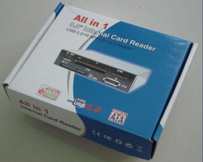Multifunction 3.5'' Internal Card Reader