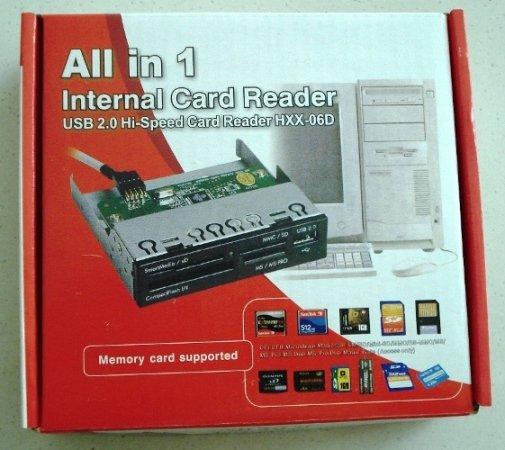 3.5'' Multifunction Internal Card Reader
