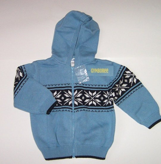 Gymboree Hooded Snowflake Sweater 18/24 Mos.~2T ARCTIC TERRITORY