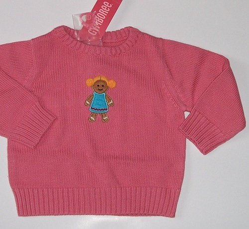 Gymboree SUGAR AND SPICE Gingerbread Sweater 18~24 Mos.~ 2/2T