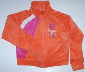 SKETCHERS Velour Jacket Girls Sz. 8
